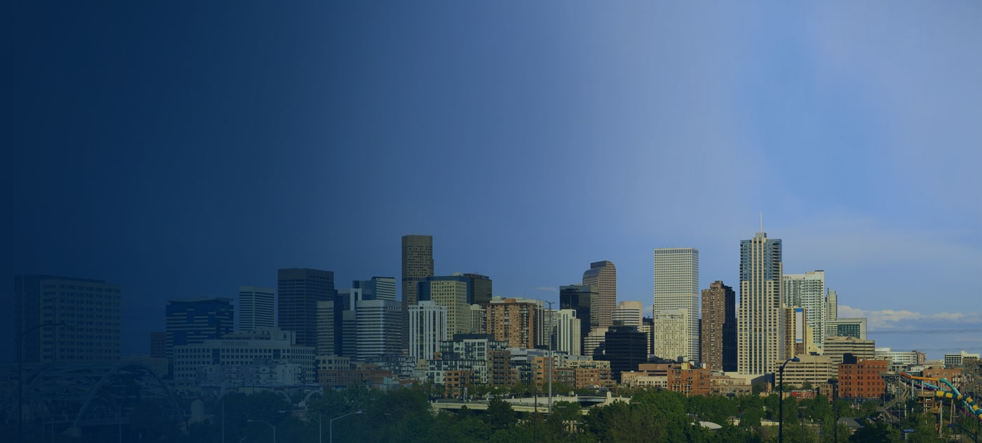 Denver City Skyline